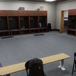 Wrestlng Locker Room