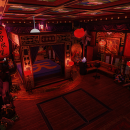 Final Fantasy 7 Remake - Corneo's bedroom