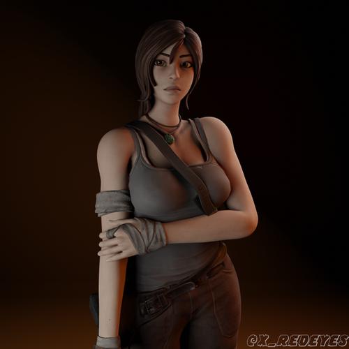 Thumbnail image for Lara Croft | Fortnite style