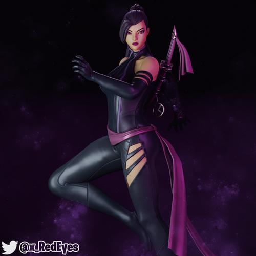 Thumbnail image for Psylocke | Fortnite Style