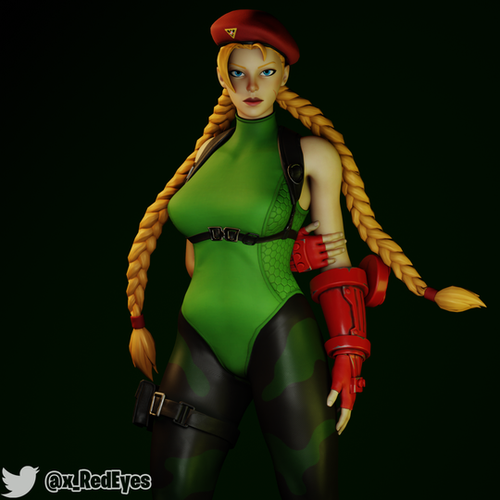 Thumbnail image for Cammy White   Fortnite Style