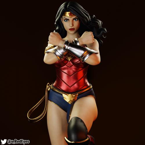 Thumbnail image for Wonder Woman   Fortnite Style