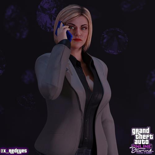 Thumbnail image for Agatha Baker | GTA V