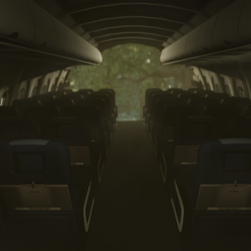 Thumbnail image for The Forest - Crashed airplane
