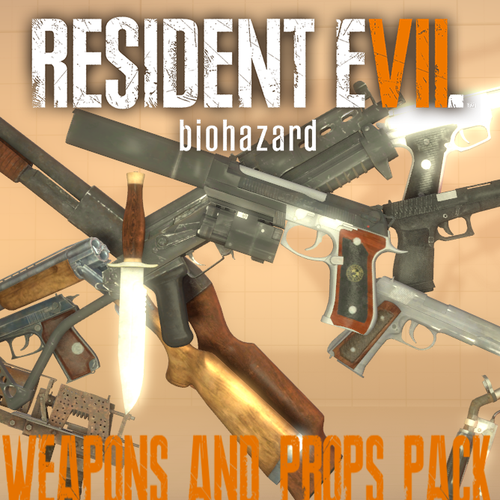 Thumbnail image for RESIDENT EVIL 7: Weapons & Props Pack