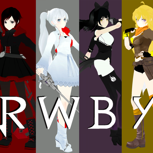 Thumbnail image for Rwby: Team RWBY Season 1 pack