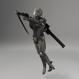 Metal-Gear Rising: Raiden Full Cyborg