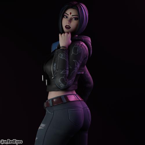 Thumbnail image for Raven | Fortnite style