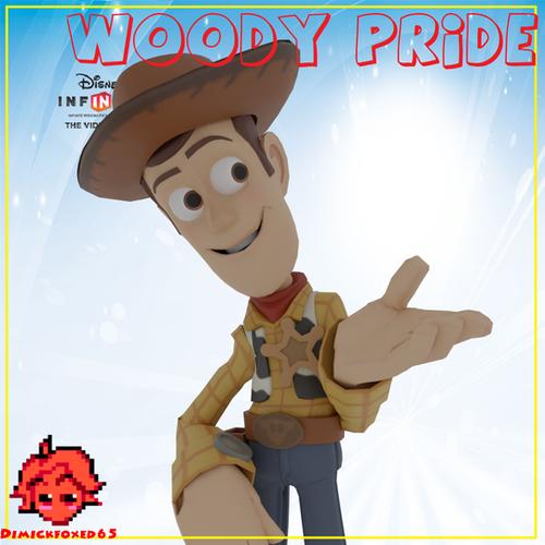 Thumbnail image for Disney Infinity (1.0) - Woody Pride