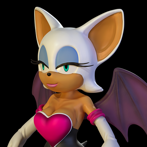 Thumbnail image for Rouge the Bat 2020 (Sonic the Hedgehog)