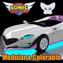 Rouge's Car - Team Sonic Racing (aka. the Lip Spyder)