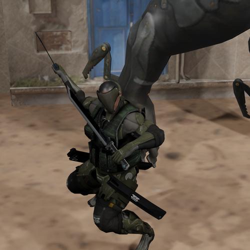 Thumbnail image for Metal-Gear Rising: Female Desperado Cyborg Soldier