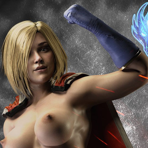 Thumbnail image for Power Girl Injustice 2 - Nude 1.1