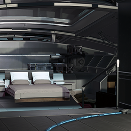 [SFM2] Shepard's Cabin (Mass Effect)