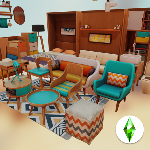 Thumbnail image for Sims4 - Tiny Living Pack