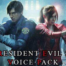 Resident Evil 2 voice pack