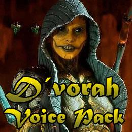D´vorah voice pack