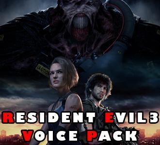 Thumbnail image for Resident Evil 3 voice pack