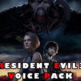 Resident Evil 3 voice pack