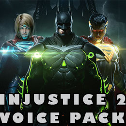 Injustice 2 female voice pack