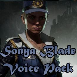 Sonya Blade voice pack