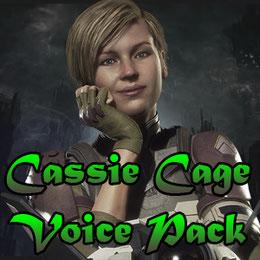 Cassie Cage voice pack