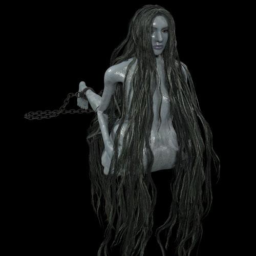 Thumbnail image for Slug woman (Bloodborne)