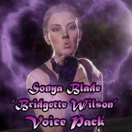 """Sonya Blade """"Bridgette Wilson"""" voice pack"""