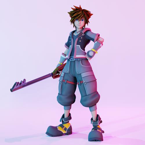 Thumbnail image for Kingdom Hearts 3 Sora