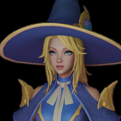Thumbnail image for Sorceress Lux - League of Legends