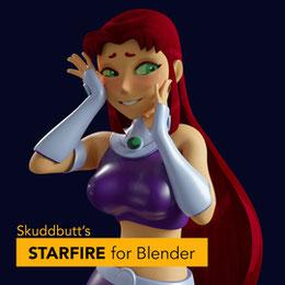 Starfire/Blackfire [v1.03] Blender 2.91 (Skuddbutt)