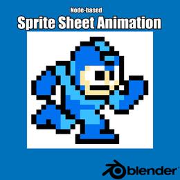 Blender - Node Based Sprite Sheet Animation