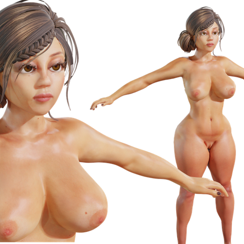 Thumbnail image for Stacy  v1.0 - nsfw stylized extra, or main girl