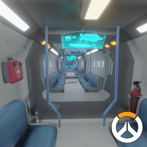 Thumbnail image for OVERWATCH - Train Environment // Blender