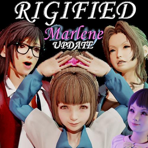 Thumbnail image for Tifa, Aerith, Betty & Marlene - Final Fantasy VII Remake