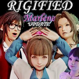 Tifa, Aerith, Betty & Marlene - Final Fantasy VII Remake