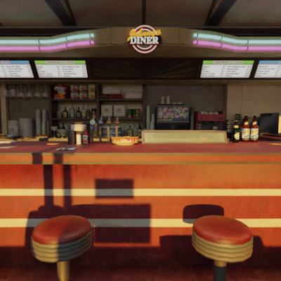 Thumbnail image for Johnny's Diner (Dead or Alive 5)