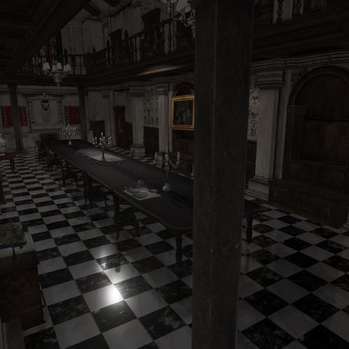 Thumbnail image for Dining Hall Resident Evil 1 Remake