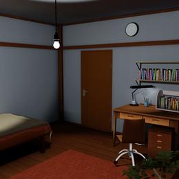 Toon shaded boy's room