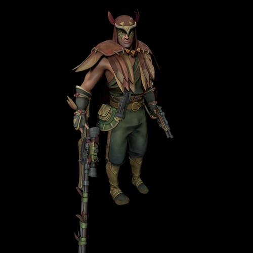 Thumbnail image for Strix  (Paladins champions of realm)