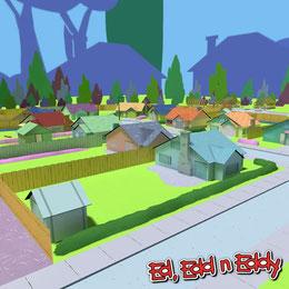 (CWardee) Ed Edd n Eddy edventures map