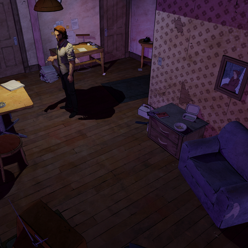 Thumbnail image for Bigby's Apartment (The Wolf Among Us)