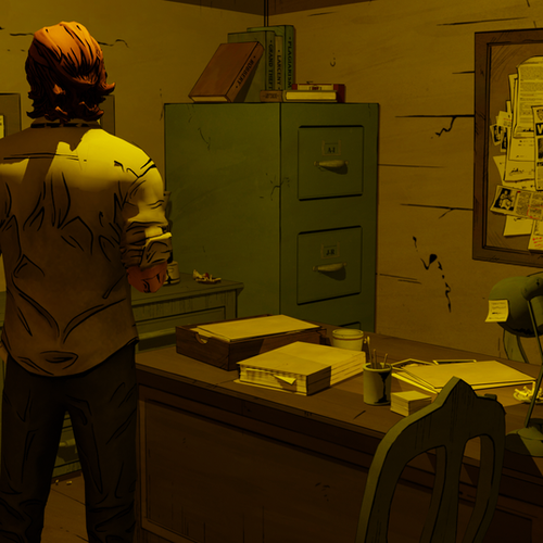 Thumbnail image for Bigby's Office (The Wolf Among Us)