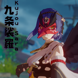 Kujou Sara [Genshin Impact]