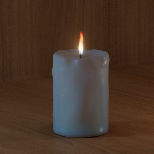 Thumbnail image for Candle for animation