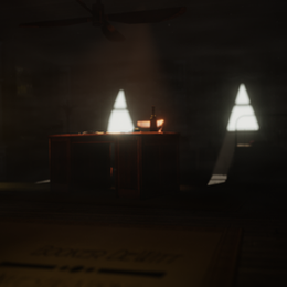 Bioshock: Infinite - Booker's office
