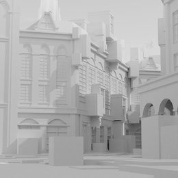 NieR Automata: Copied City