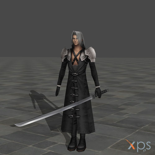 Thumbnail image for Sephiroth from Crisis Core Final Fantasy 7