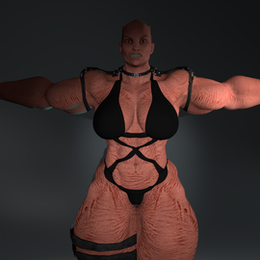 Female strong demon - NSFWSTUDIO