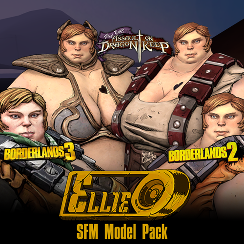 Thumbnail image for Borderlands: Ellie (Model + Prop Pack)
